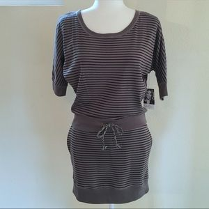 ⭐️NWT⭐️Jessica Simpson Striped Knit Mini Dress